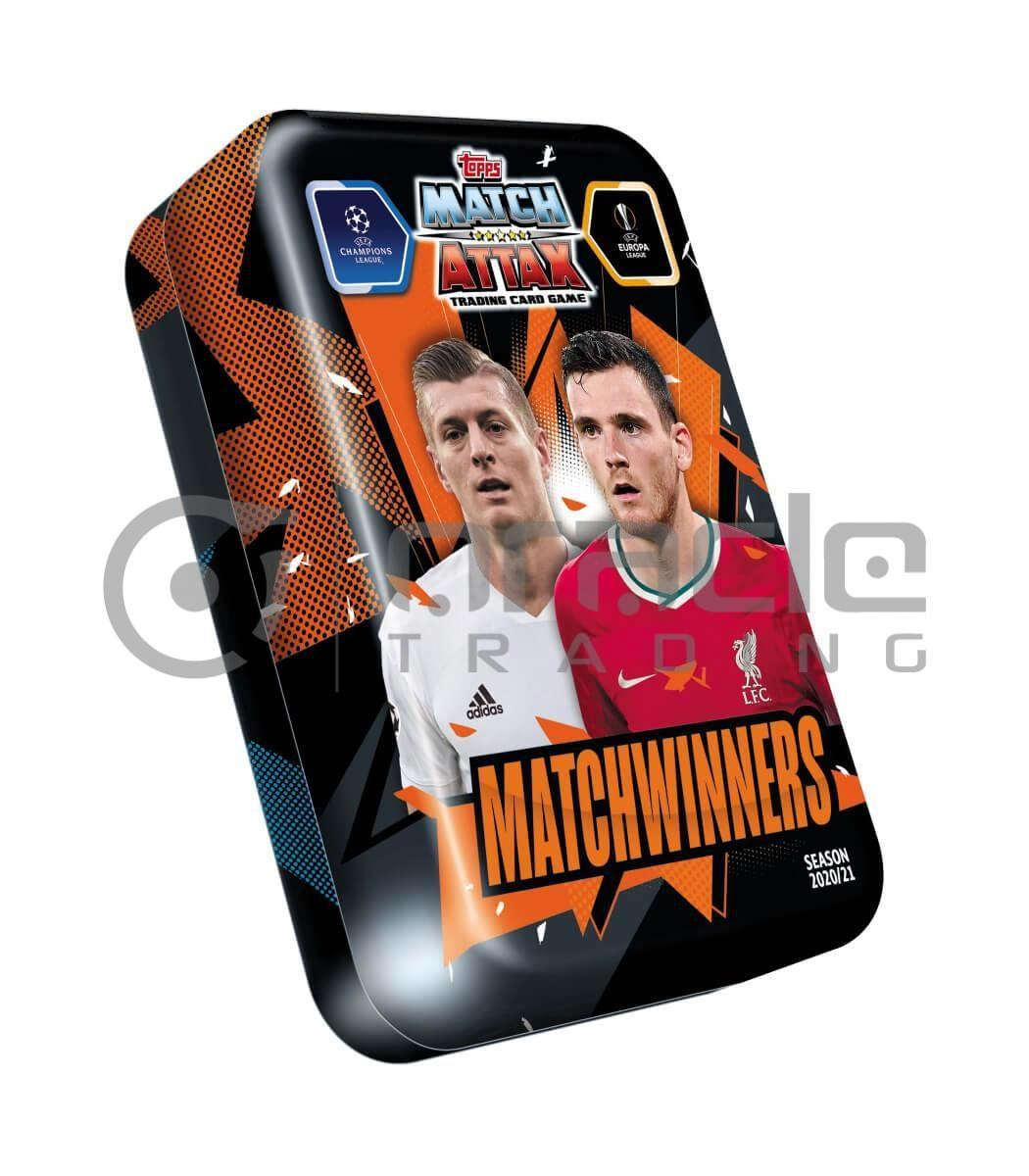 2020-21 Topps Match-Attax Champions League Cards - Mega Tin