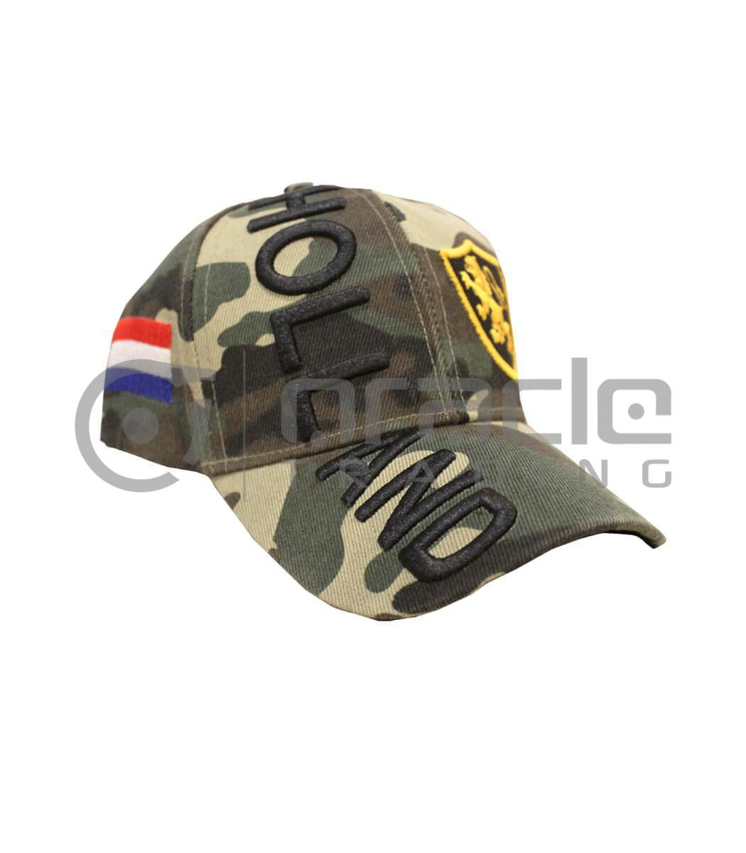 3D Holland Hat - Camo