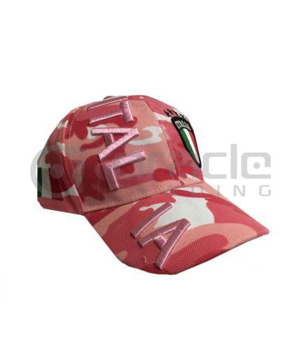 3D Italia Hat - Pink Camo