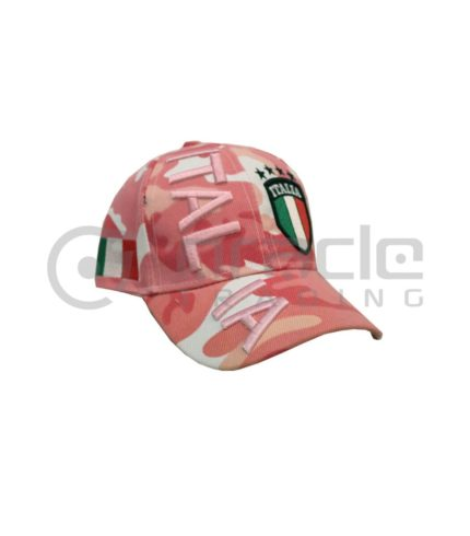 3D Italia Hat - Pink Camo - Kid Size