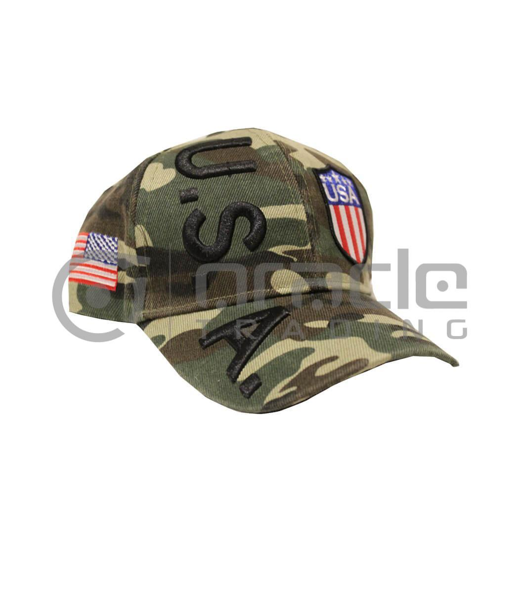 3D USA Hat - Camo