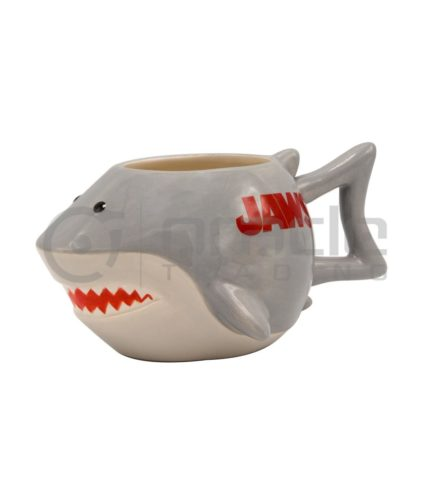 Jaws 3D Shaped Mug