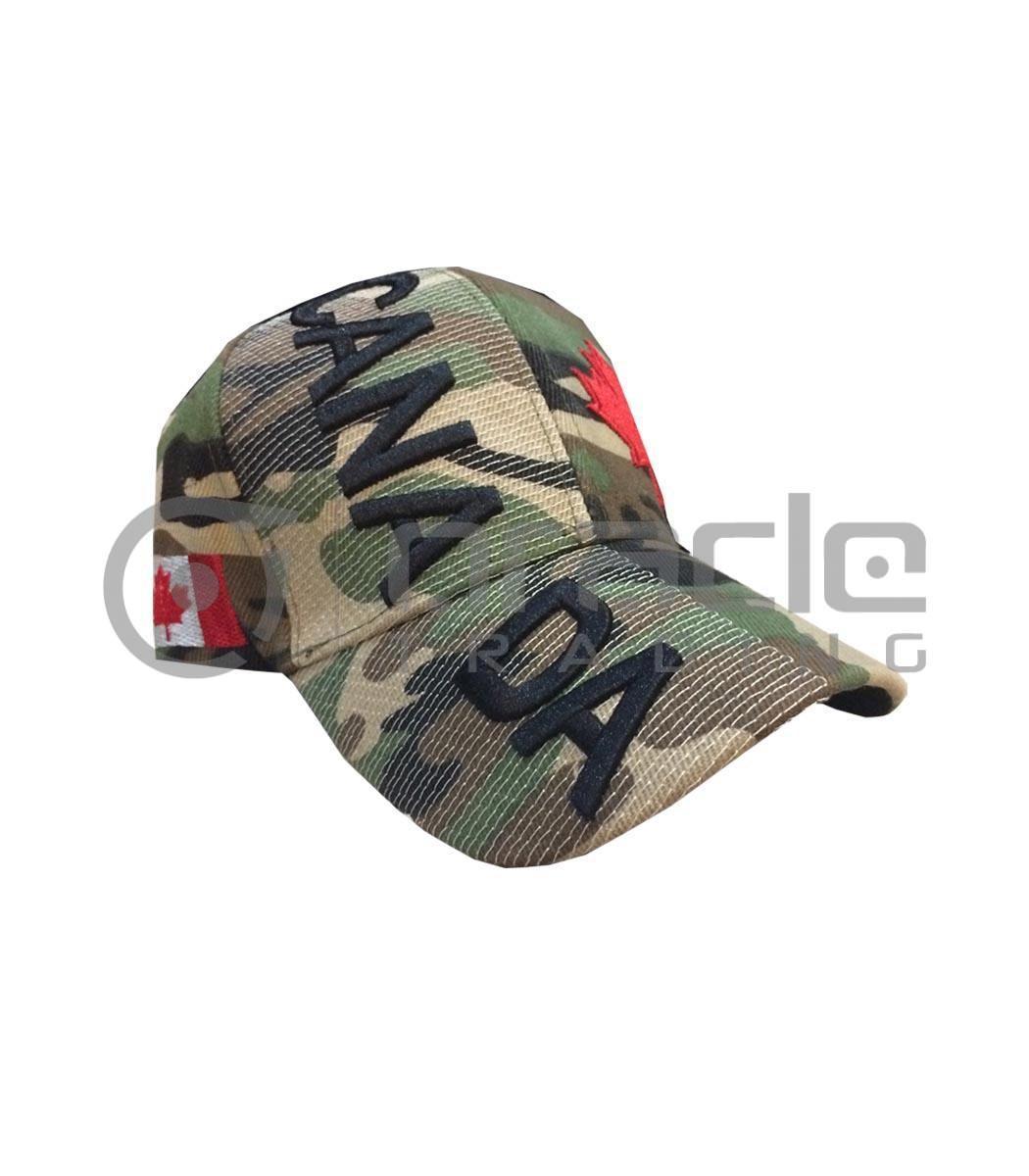 3D Canada Hat - Camo