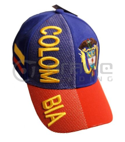 3D Colombia Hat