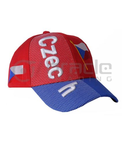 3D Czech Republic Hat