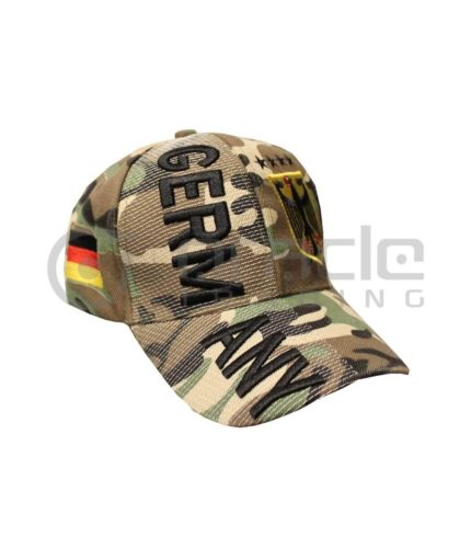 3D Germany Hat - Camo