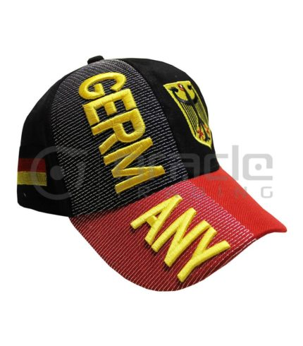 3D Germany Hat - Gold - Eagle