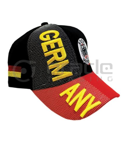 3D Germany Hat - Gold - 4-Star