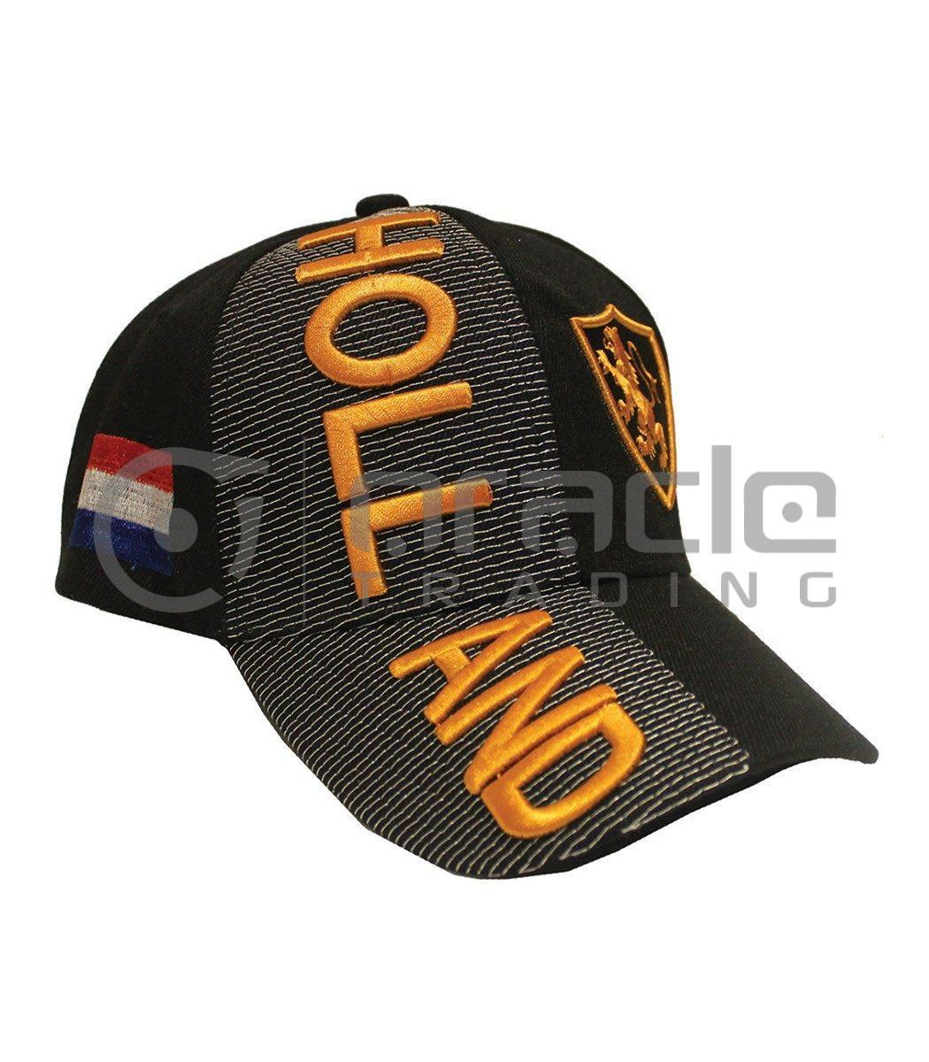 3D Holland Hat - Black