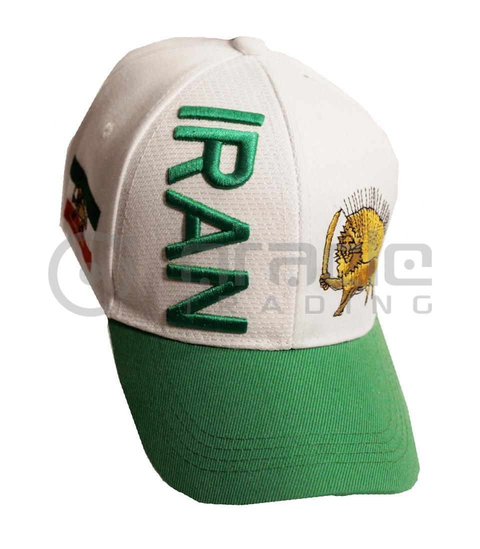 3D Iran Hat - White
