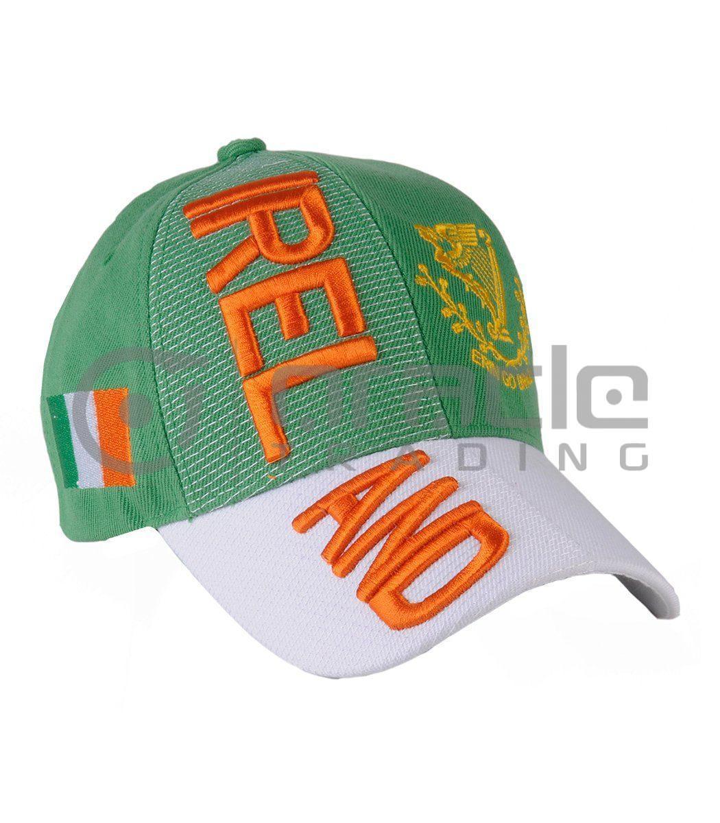 3D Ireland Hat - Erin Go Bragh