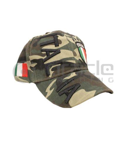 3D Italia Hat - Camo - Green