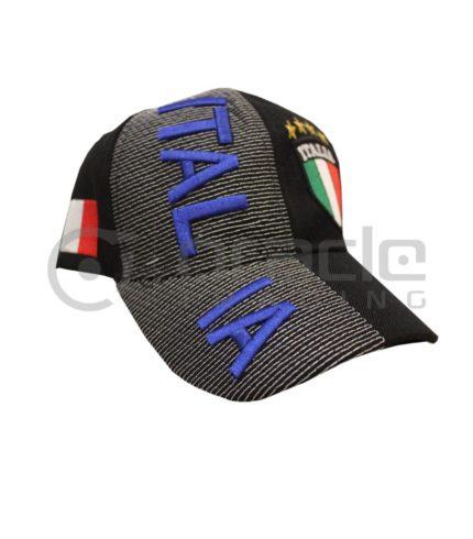 3D Italia Hat - Black