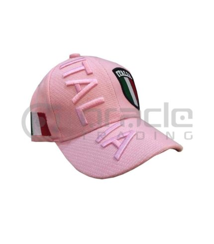 3D Italia Hat - Pink - Kid Size