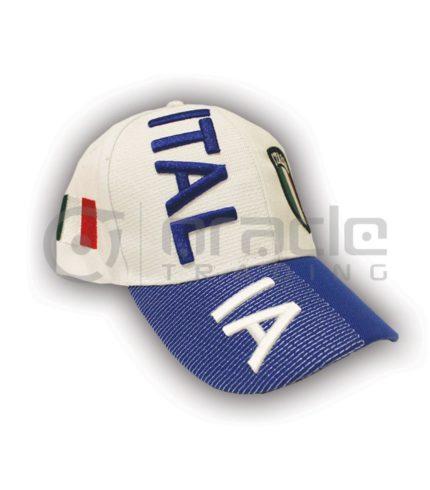 3D Italia Hat - White
