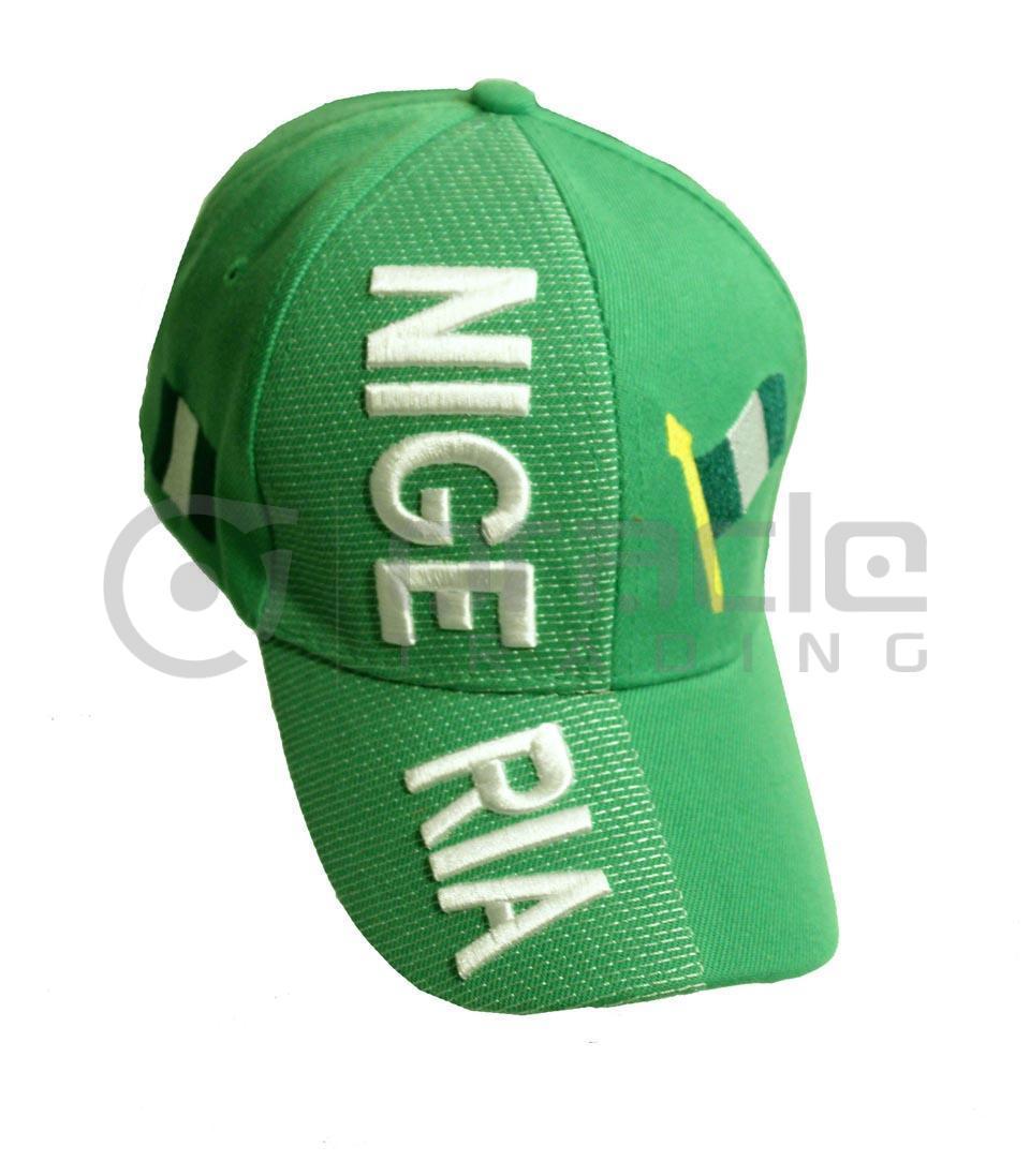 3D Nigeria Hat
