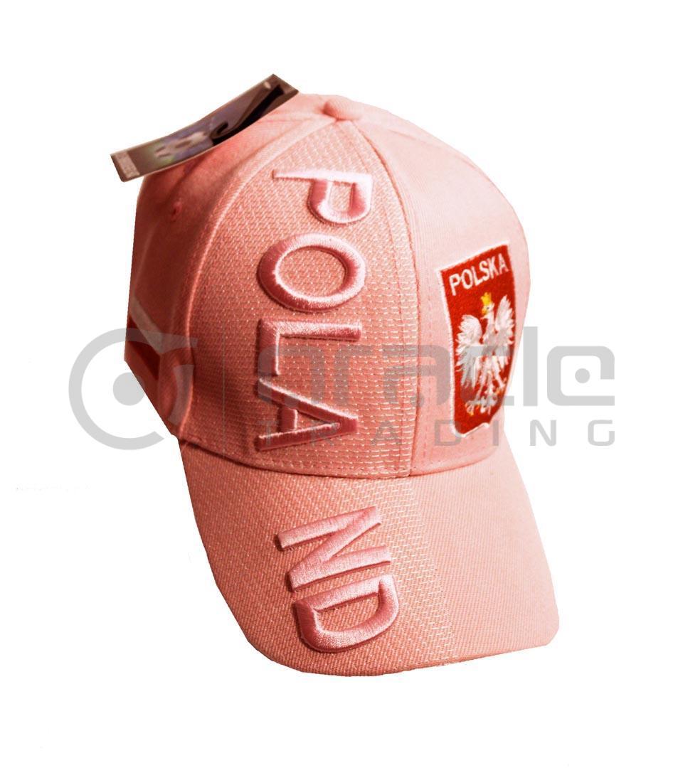 3D Poland Hat - Pink