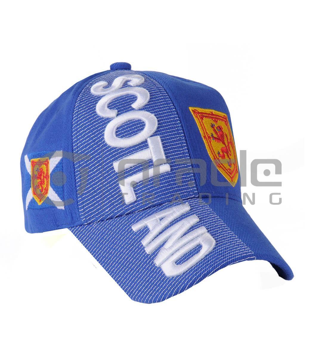 3D Scotland Hat - Rampant Lion