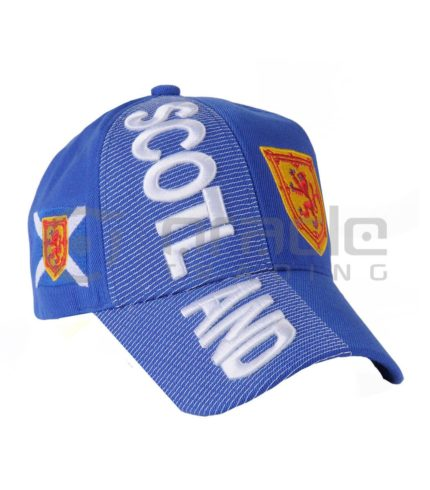 3D Scotland Hat - Rampant Lion