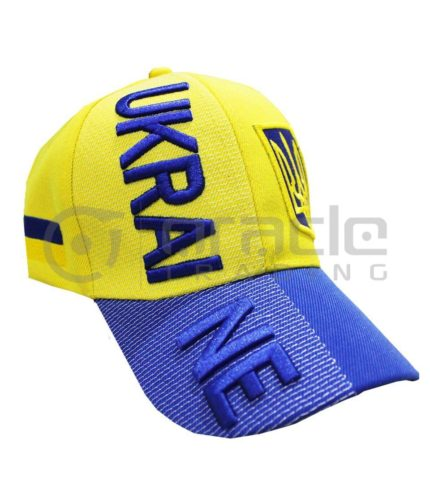 3D Ukraine Hat