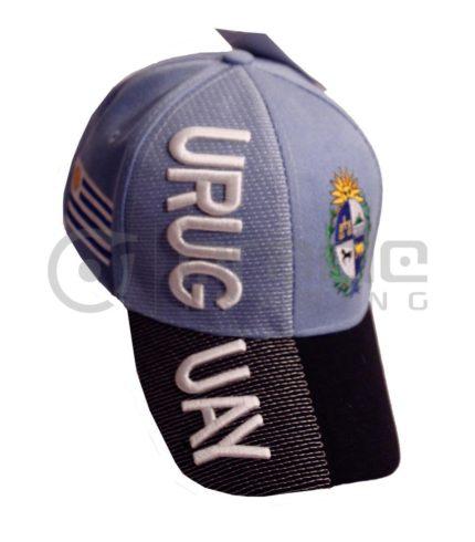3D Uruguay Hat