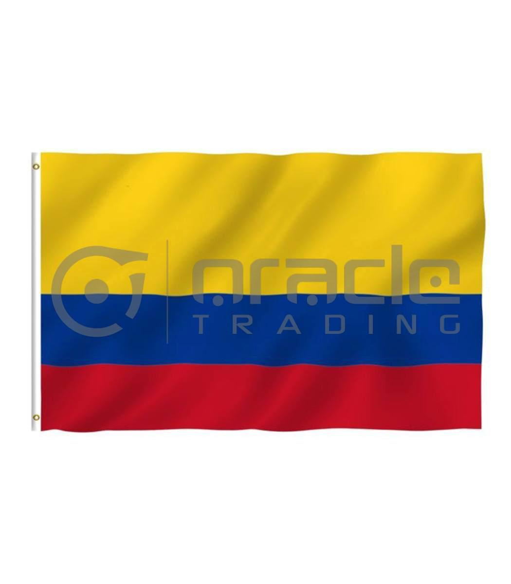 Large 3'x5' Colombia Flag