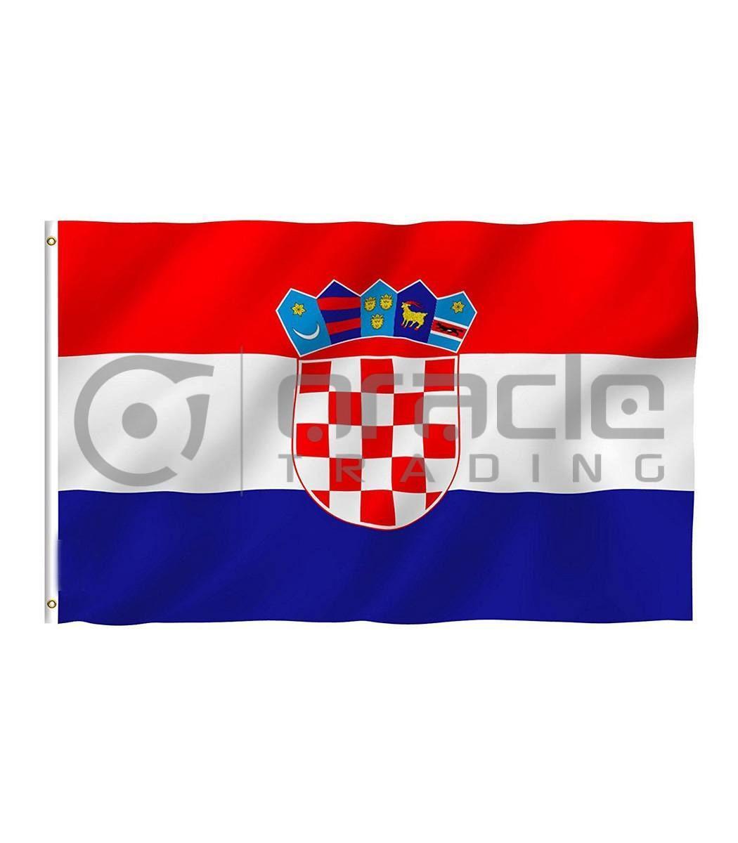 Large 3'x5' Croatia Flag
