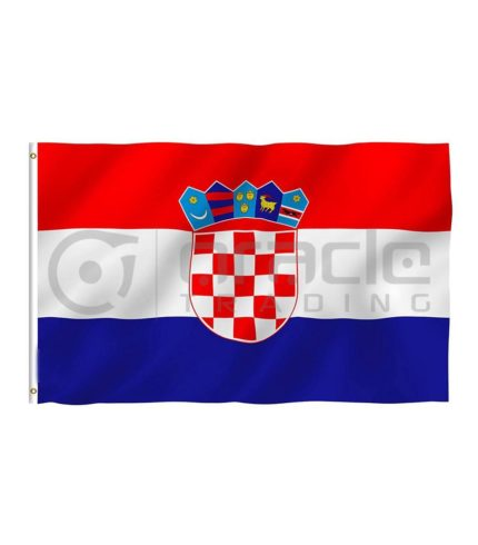 Large 3'x5' Croatia Flag