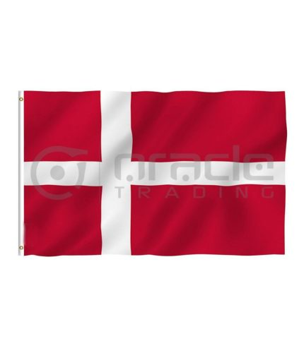 Large 3'x5' Denmark Flag