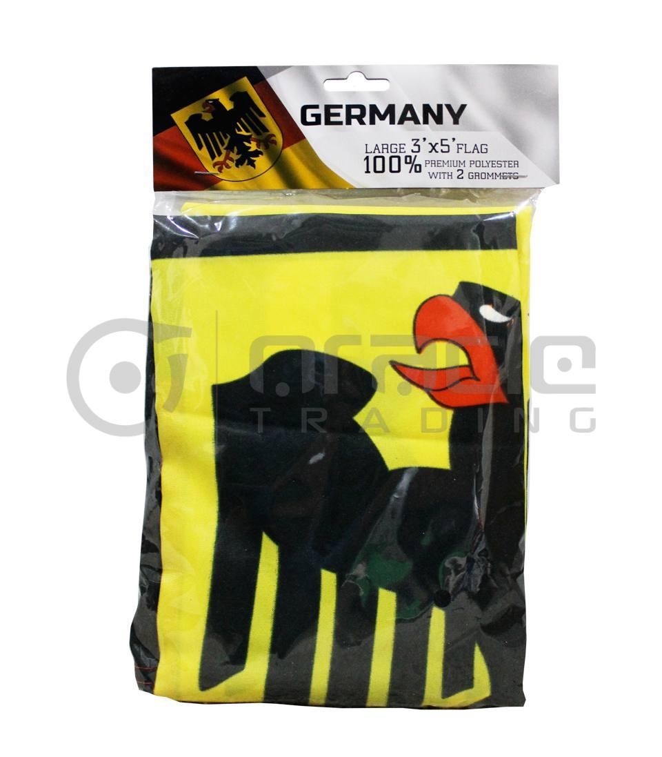 Large 3'x5' Germany Flag - Eagle