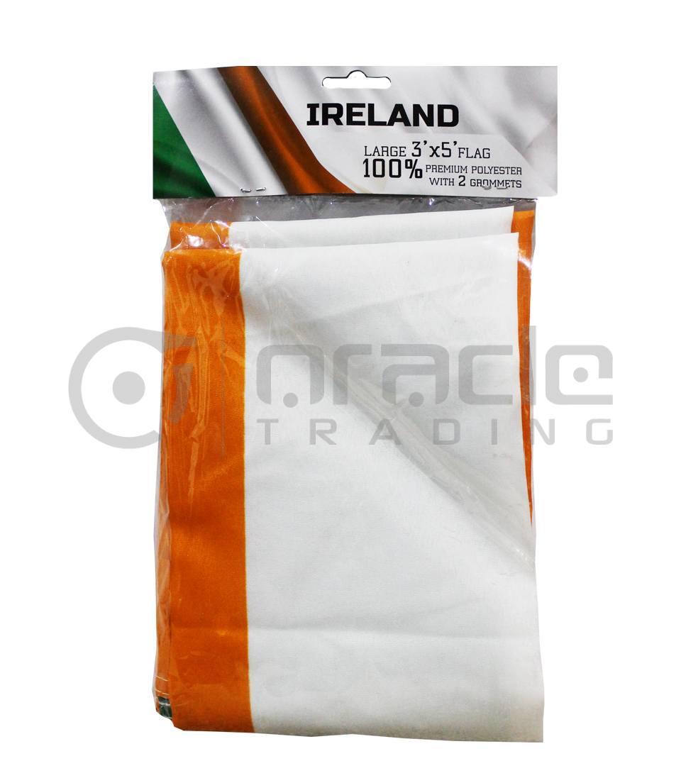 Large 3'x5 Ireland Flag
