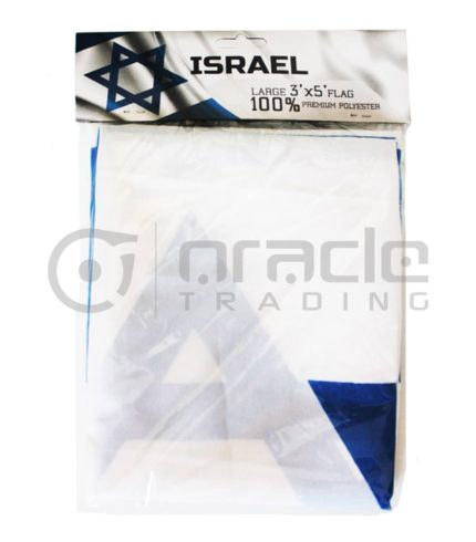 Large 3'x5' Israel Flag