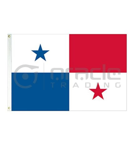 Large 3'x5' Panama Flag