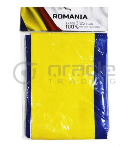 Large 3'x5' Romania Flag