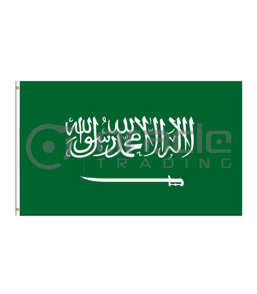 Large 3'x5' Saudi Arabia Flag
