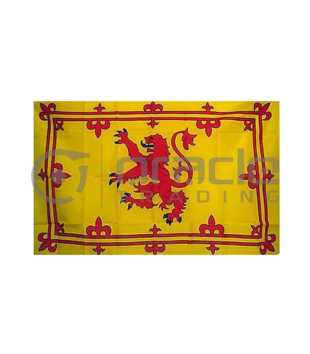Large 3'x5' Scotland Flag - Rampant Lion