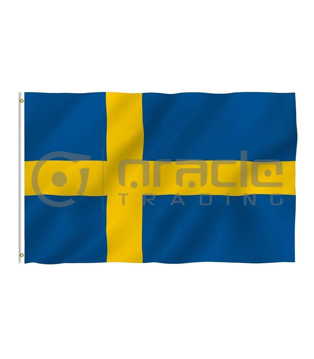 Large 3'x5' Sweden Flag