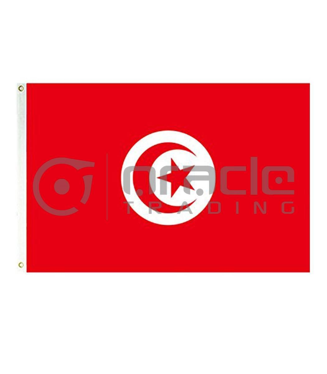 Large 3'x5' Tunisia Flag