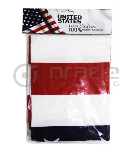 Large 3'x5' USA Flag (United States)