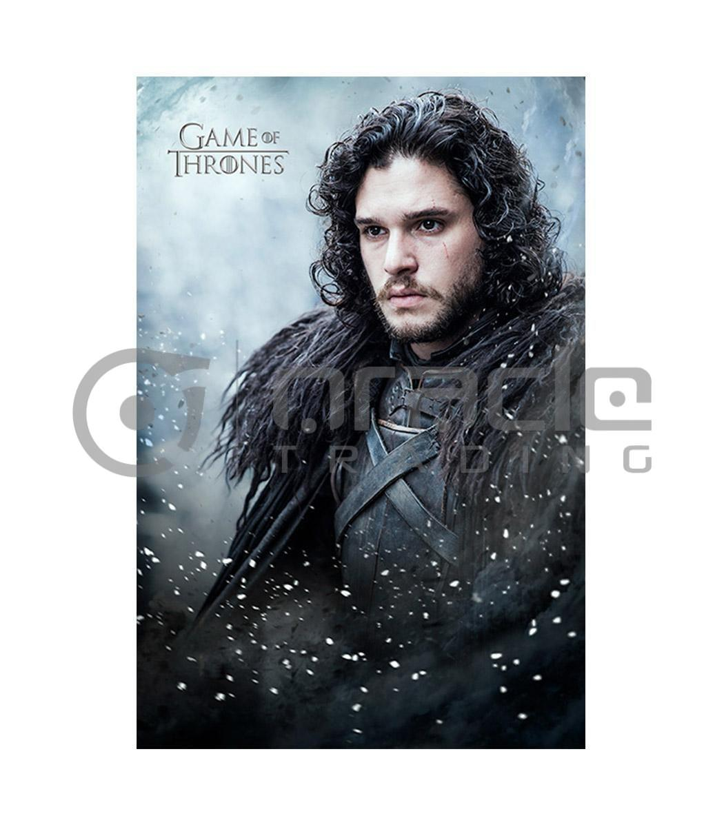 Game of Thrones Jon Snow Poster