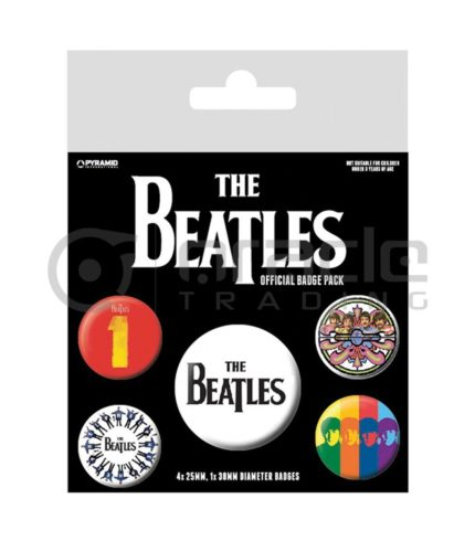 The Beatles Black Badge Pack
