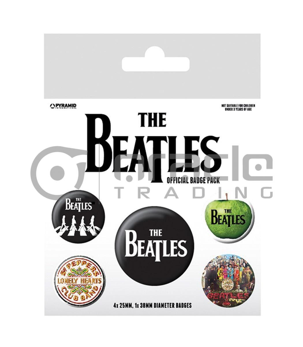 The Beatles White Badge Pack