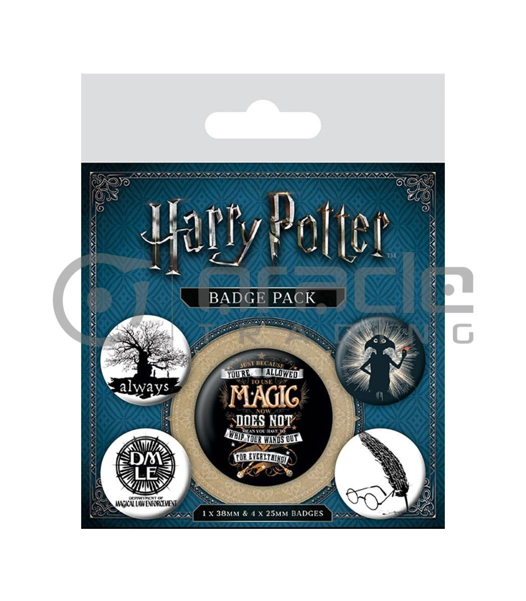 Harry Potter Dobby Badge Pack