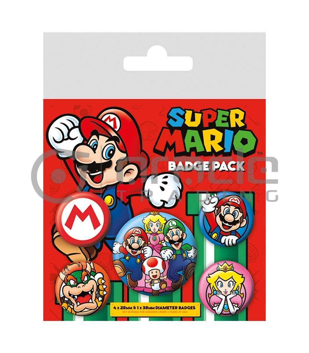 Super Mario Badge Pack