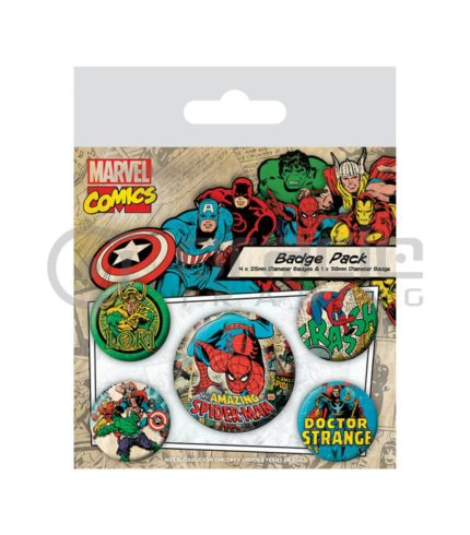Spiderman Badge Pack