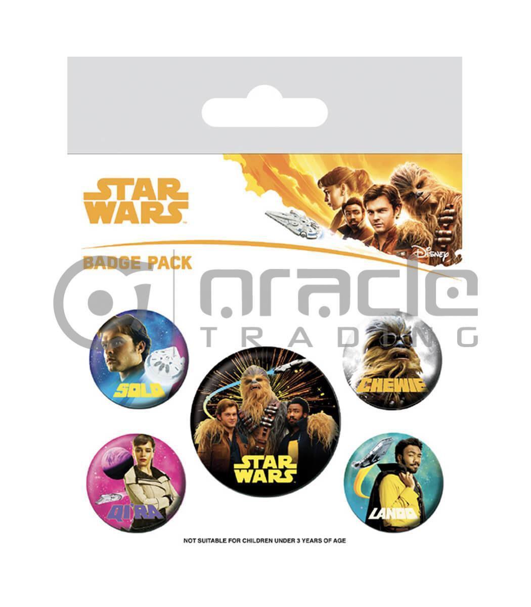 Star Wars Badge Pack - Solo