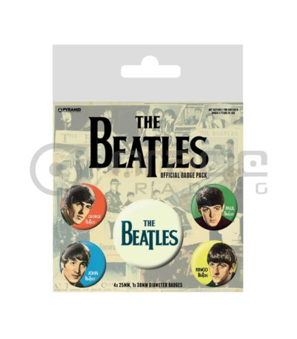 The Beatles Badge Pack - Band