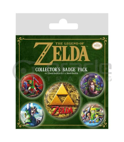Zelda Badge Pack (Classics)