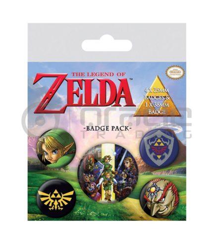 Zelda Badge Pack (The Legend)