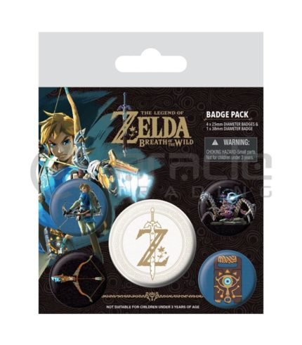 Zelda Badge Pack (Z Emblem)